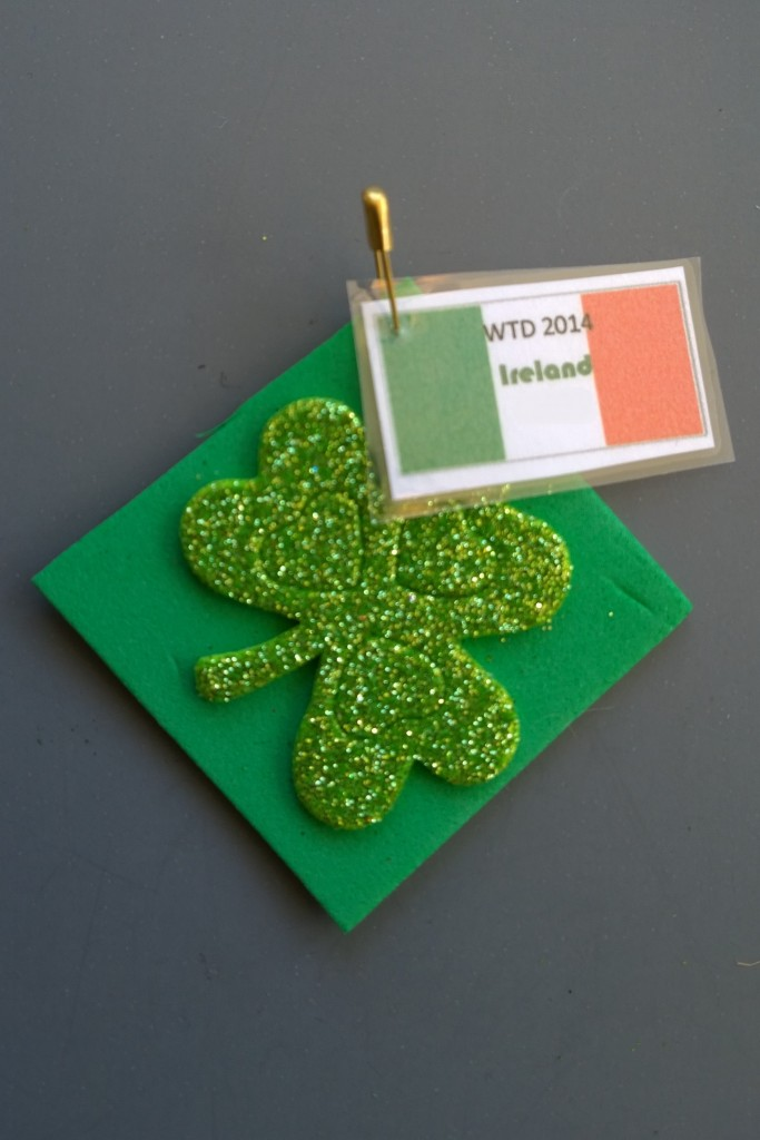 Ireland - Flag & Shamrock SWAP