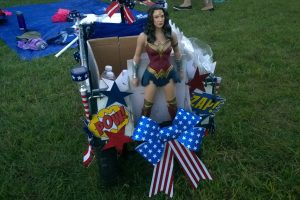 Wonder Woman Wagon