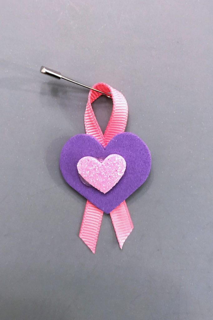 Breast Cancer Awareness Heart SWAP