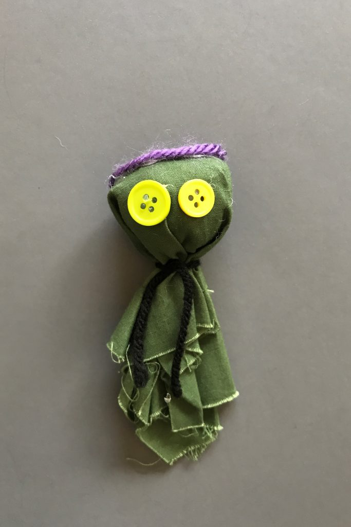 Girl Scout Rag Doll SWAP