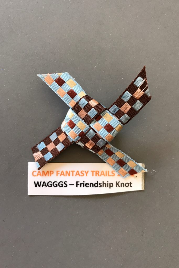 WAGGS Friendship Knot SWAP